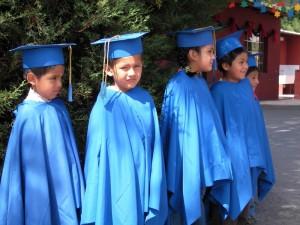 Bild: Schüler auf einer Abschlussfeier